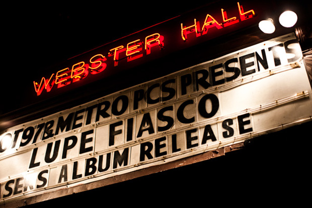 13thwitness lupe fiasco lasers album launch webster hall theatre