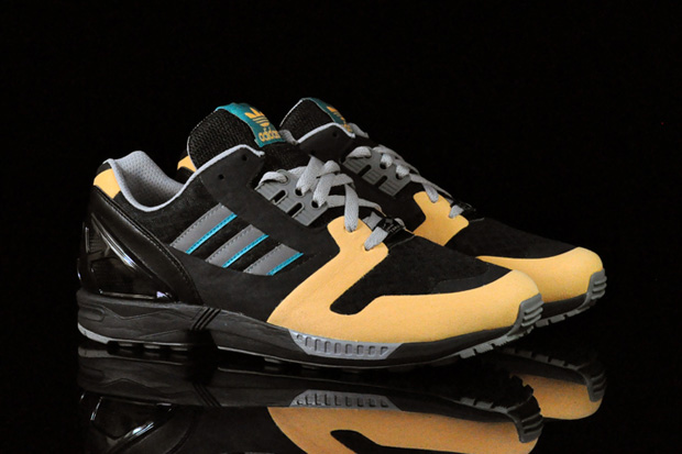 Spring 2011 welcomes a new version of the storied ZX 8000 runner from adidas  Originals.