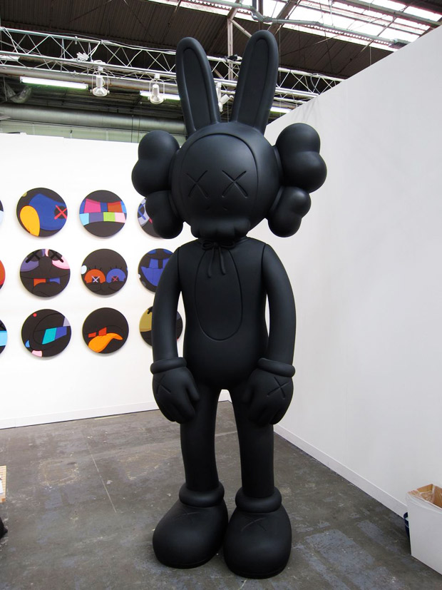 armory arts week kaws honor fraser exhibition