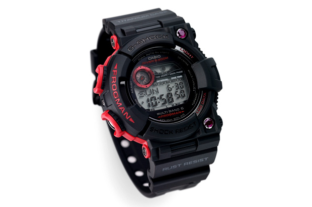 casio g shock ruby atomic frogman