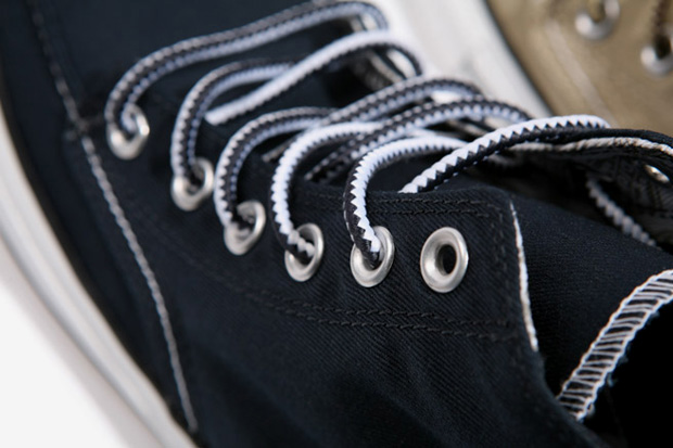 ca048c8256d394 The Chuck Taylor AS Classic Boot Hi takes on some direct work boot  inspirations with a moc-toe upper with Dickies s penchant for durability  thanks to ...