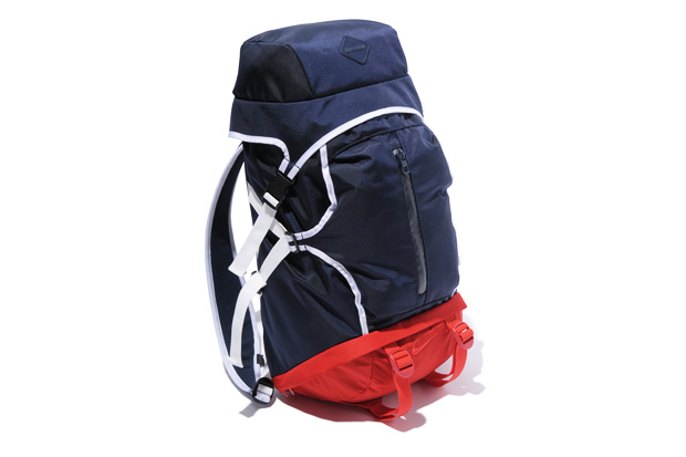 f c r b tricolore back pack