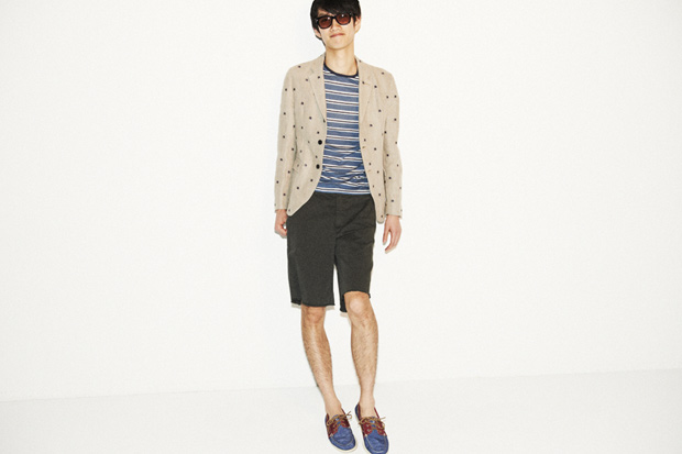 hnyees eye for thecorner com kitsune band of outsiders 2011 springsummer lookbook