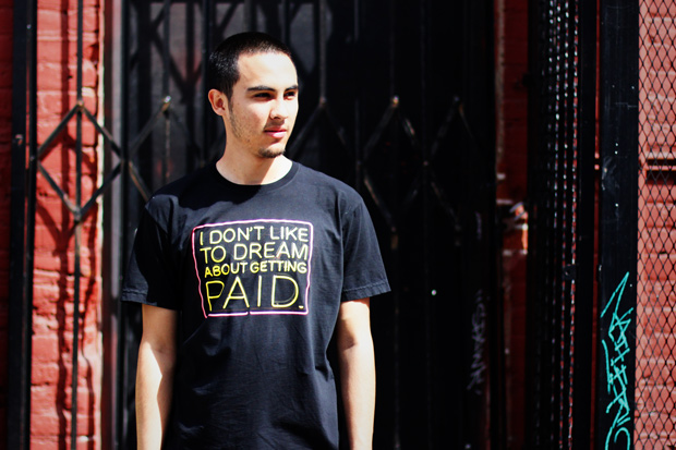 known gallery x patrick martinez i dont like to dream about getting paid t shirt