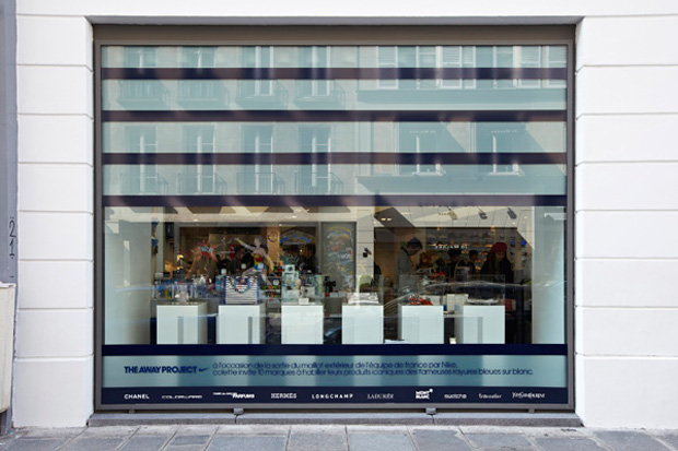 nike x colette the away project retail space