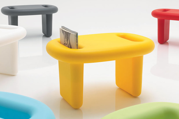 snoop stool by karim rashid for b line