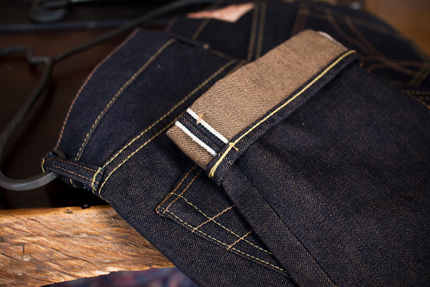 strike gold sg2109 pure gold slim tapered denim