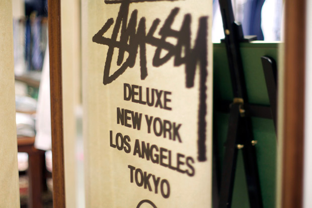 stussy deluxe pop up shop