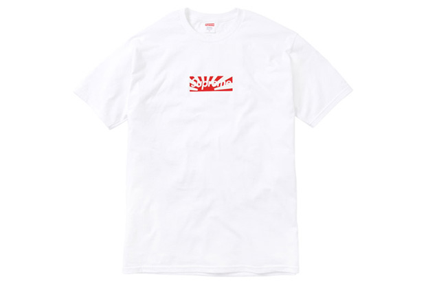 supreme japan benefit t shirt
