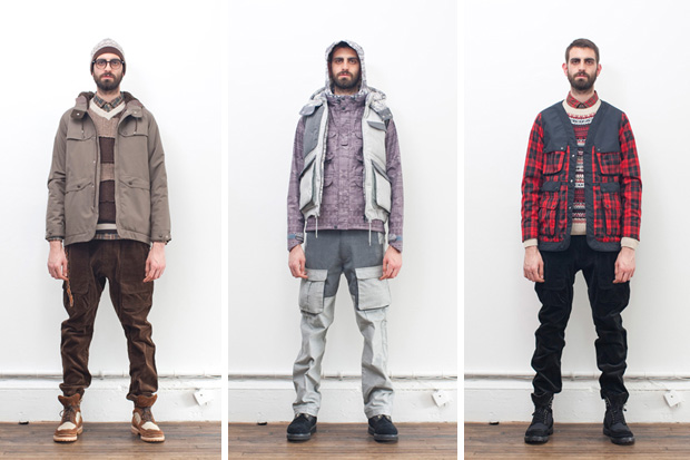 white mountaineering 2011 fallwinter collection