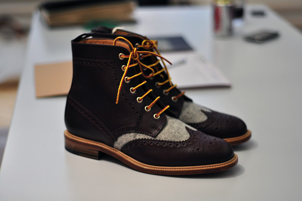 woolrich woolen mills 2011 fallwinter brogue boot