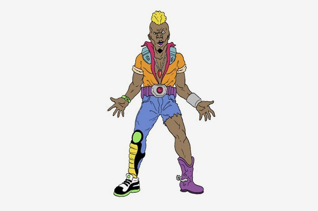 adult swim major lazer cartoon announcement 1 ... which sets them apart from the average NFL player/hot WAG couple.