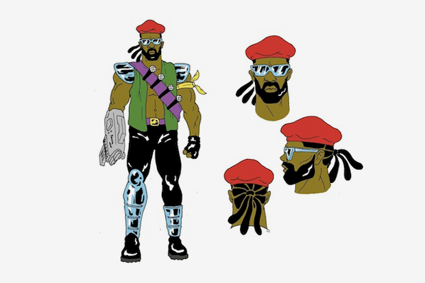 adult swim major lazer cartoon announcement