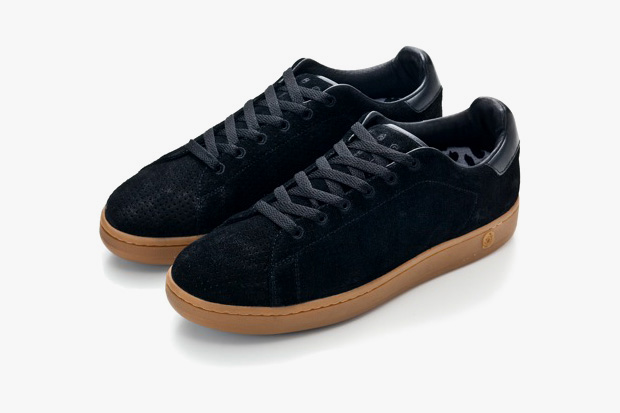 billionaire boys club perforated suede nothings sneakers