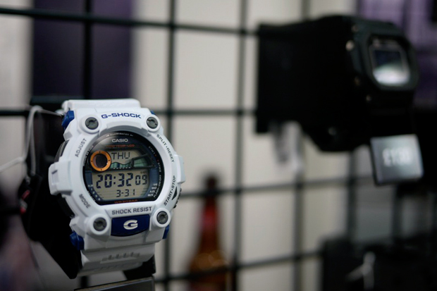 casio g shock west london flash store opening recap
