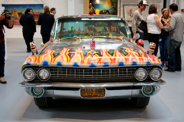kenny scharf at moca art in the streets