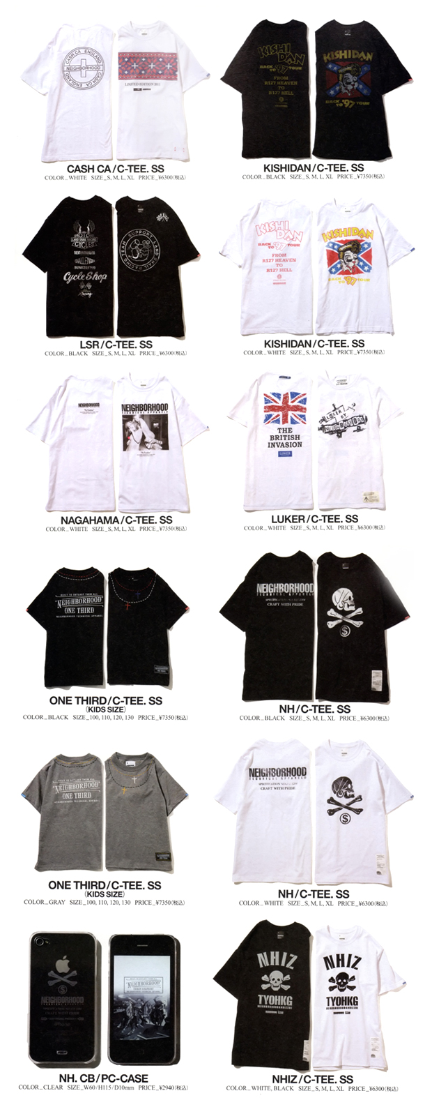 neighborhood for zozotown capsule collection