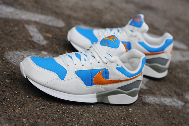 nike air pegasus 92 sailorange photo blue