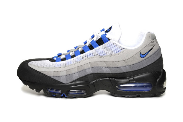 nike sportswear air max 95 white blue spark hypebeast. Black Bedroom Furniture Sets. Home Design Ideas