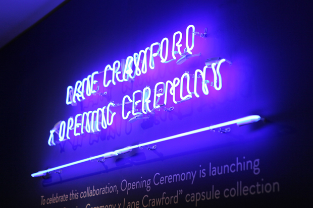 opening ceremony x lane crawford collection launch event recap