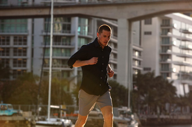 outlier three way shorts and trunks