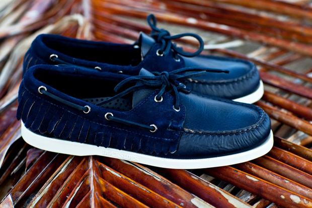 ronnie fieg for sebago 2011 springsummer collection