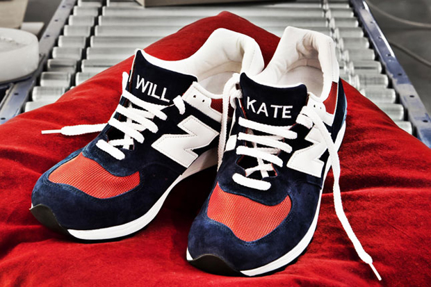 sneaker freaker new balance will and kate royal competition