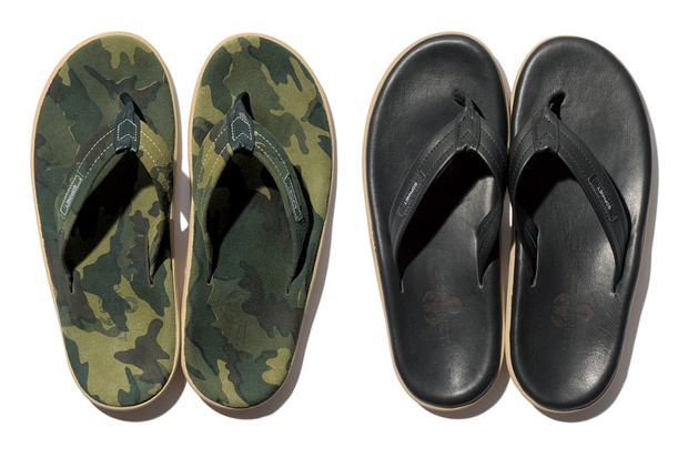 sophnet x island slipper sandals