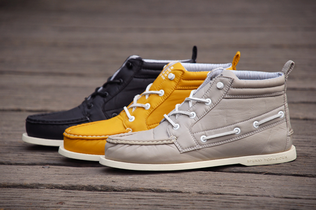 sperry topsider x band of outsiders ripstop chukka