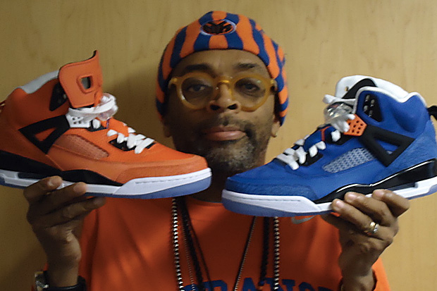 spike lee player exclusive new york knicks jordan spizikes