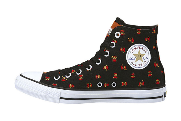 mario brothers x converse chuck taylor all star 25th anniversary collection
