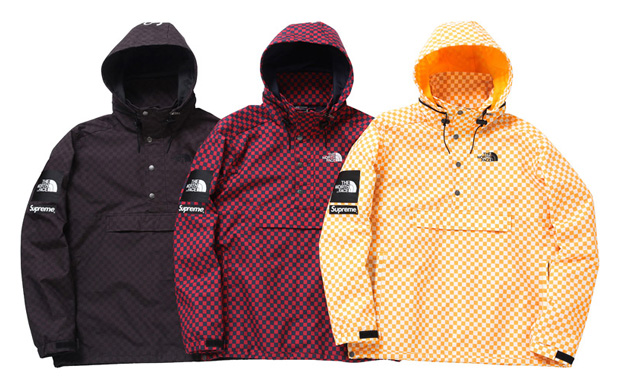 supreme x the north face 2011 springsummer collection