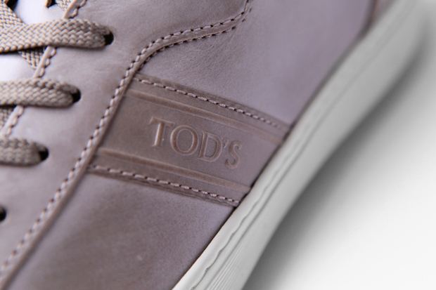 tods 2011 springsummer leather sneaker