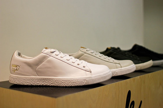 undftd x puma clyde collection launch dover street market recap