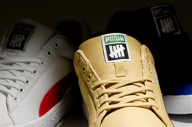 undftd x puma canvas clyde collection