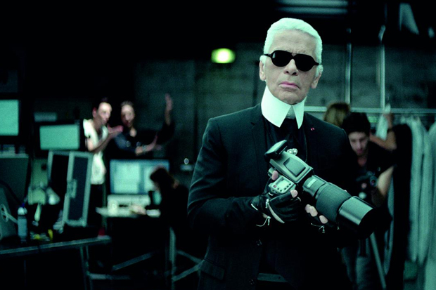 w magazine thirty minutes with karl lagerfeld interview