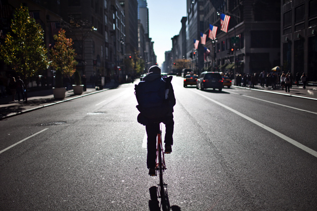 wired bike messengers pedal past bandwidth in data race
