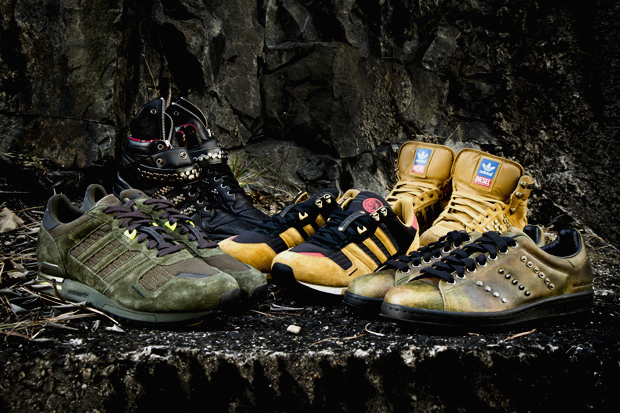 Diesel and adidas Originals come together for Fall/Winter 2011 as the two ...
