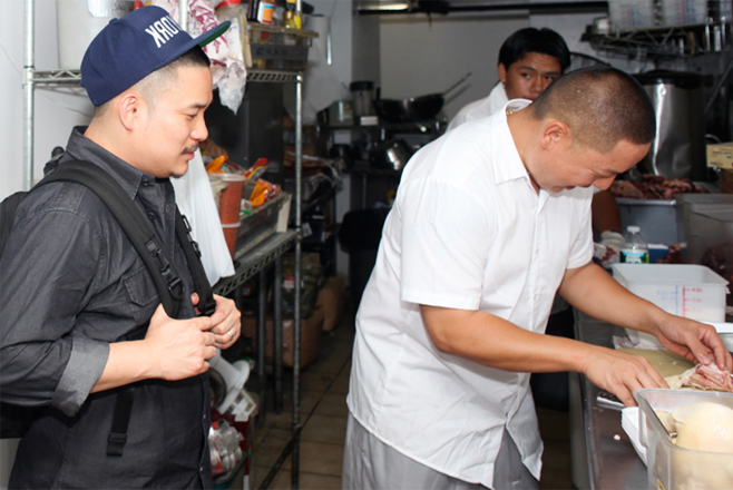 hypebeast eats hainanese chicken rice by eddie huang of baohaus