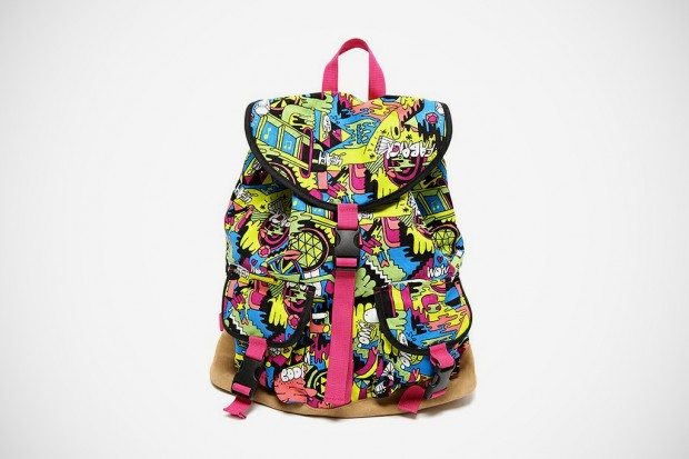 "MIKE PERRY x MEDICOM Toy ""Life Entertainment"" Backpack"