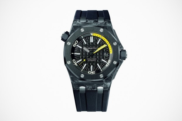 Audemars Piguet Royal Oak Offshore Diver in Forged Carbon