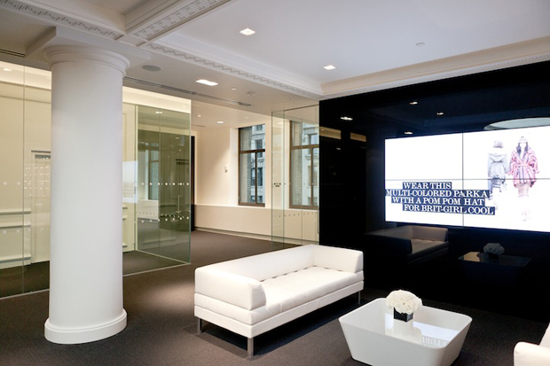NET-A-PORTER - New York City Office a look inside net a porter nyc office 2
