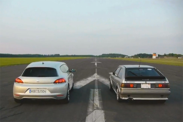 2012 Volkswagen Scirocco Faces Off Against an '87 Scirocco<br /> 16V&#8221; title=&#8221;2012 Volkswagen Scirocco Faces Off Against an '87 Scirocco<br /> 16V&#8221; width=&#8221;200&#8243; /><br />     	        </a>     	    </div> </td> </tr> <tr> <td> <div class=