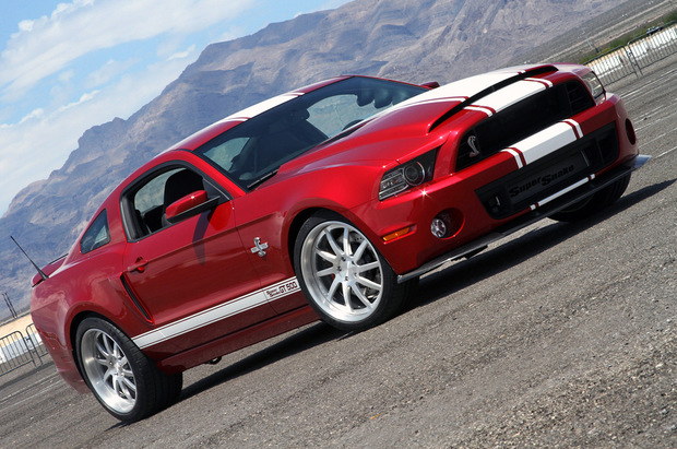 2013 850 Horsepower Ford Shelby GT500 Super Snake