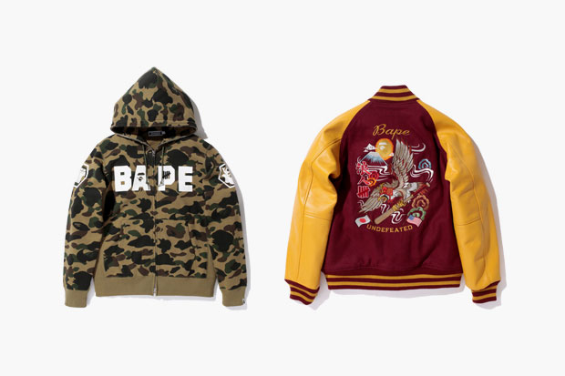BAPE x UNDFTD 2012 Fall/Winter Collection