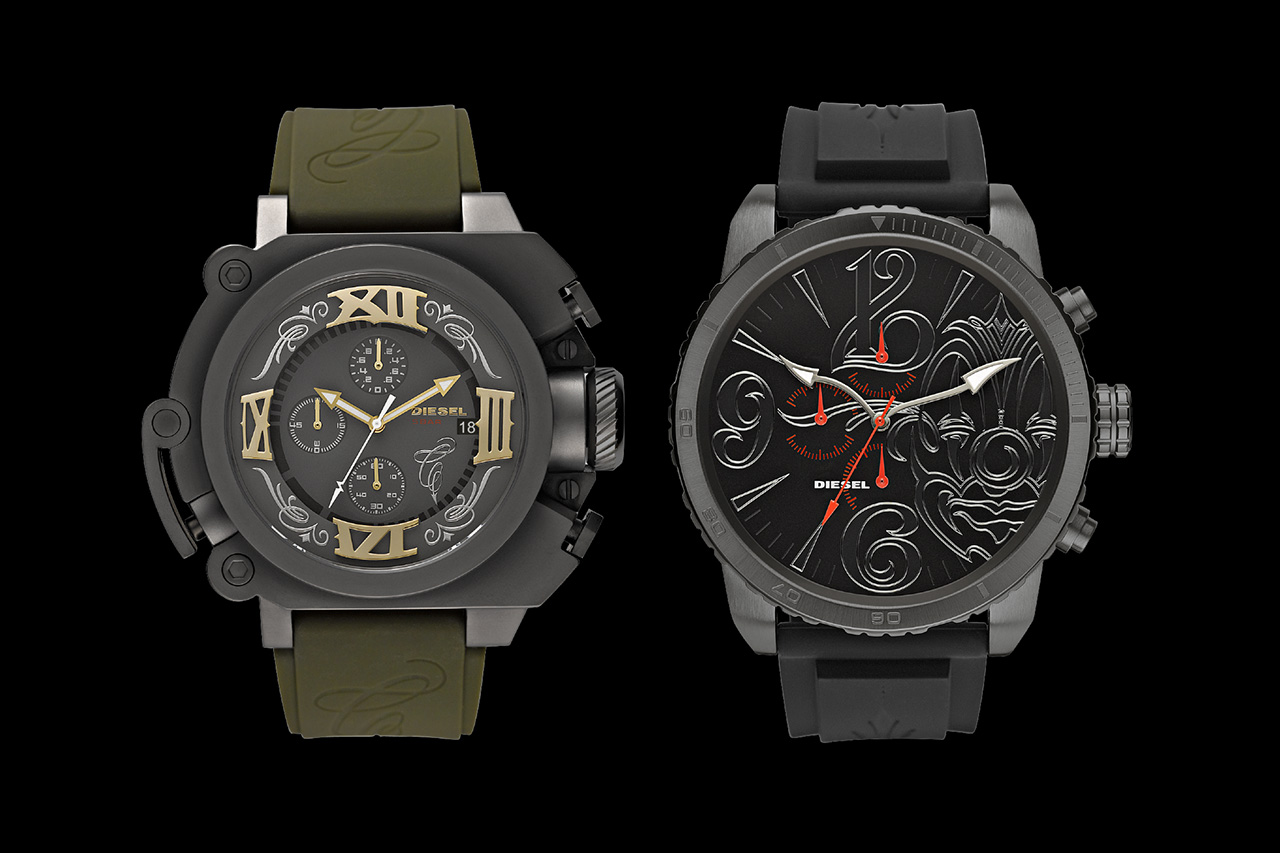 DIESEL x MR. CARTOON – Watch Collection