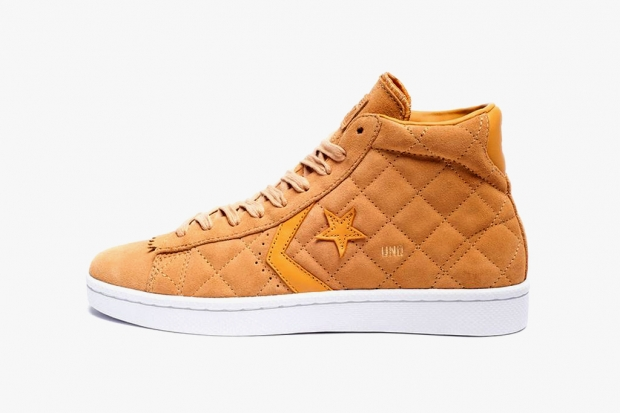Undefeated x Converse 2012 Pro Leather Mid Taffy