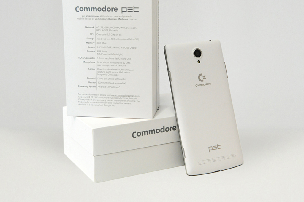 Commodore Returns … with a Smartphone