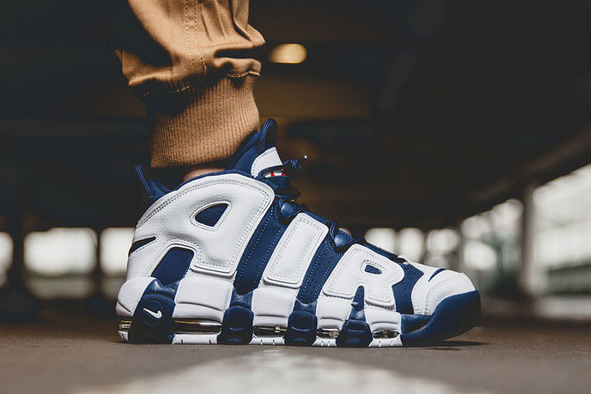 the best attitude 87c8b 41f65 Nike Air More Uptempo OG 1996 Scottie Pippen. Photo Via  Original Sole