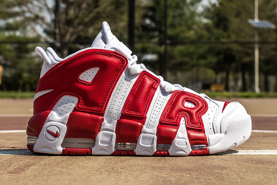 buy online fed2f ab7b0 Nike Air More Uptempo OG 1996 Scottie Pippen. Photo Via Packer Shoes